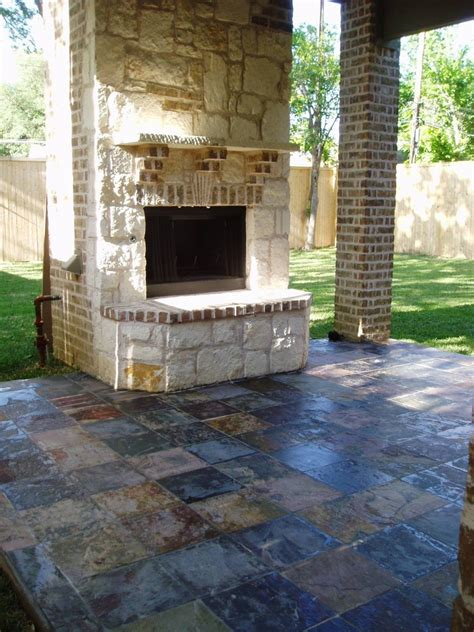 slate tiles   walls ideal  patios