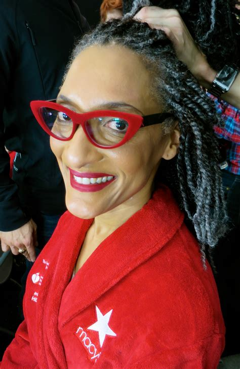 carla hall the chew gray hair celebrating life cultural charitable catch up april