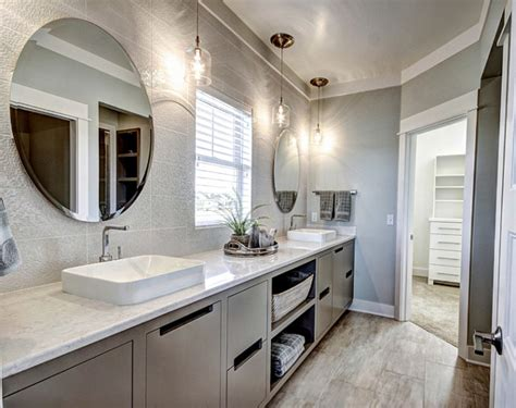 Bathroom Tile Ideas For Shower Walls ranch style home with transitional coastal interiors