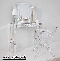 Clear Vanity Table by Transparent Furniture On Vanity Tables