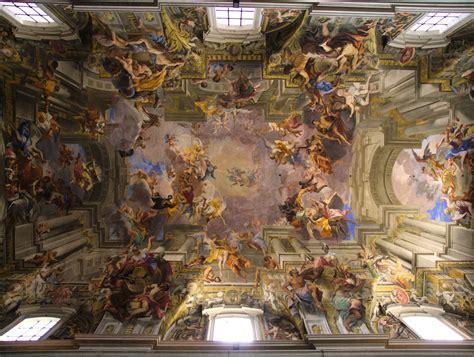 soffitto dipinto soffitto dipinto da caravaggio ispirazione di design interni