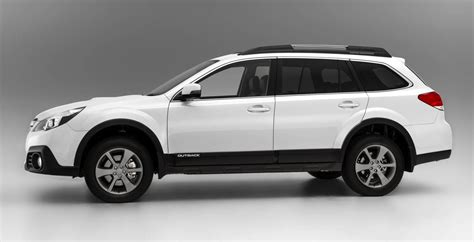 subaru outback tougher look price rise for 2014 photos