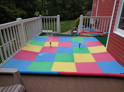 backyard splash pad diy 25 best ideas about splash pad on backyard
