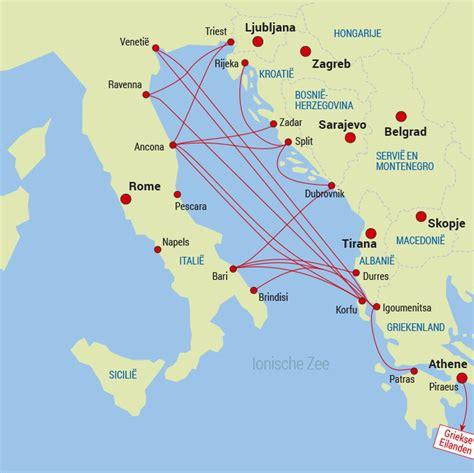 Karet Boot Trail middellandse zee oost havensteden overtocht ferry