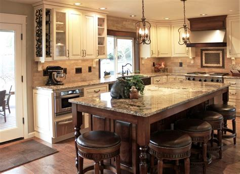 Cabinet Ideas For Kitchens Tuscan Kitchens With Old World Bar Stools Jburgh Homes
