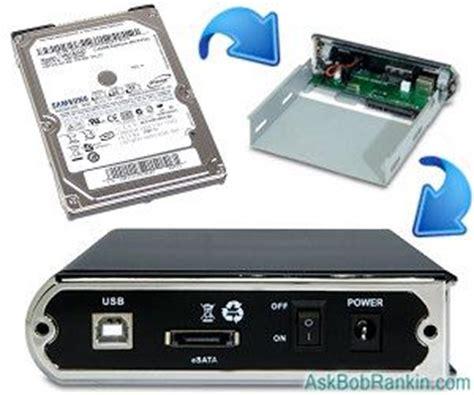 converter hdd internal to external bob rankin make your own external hard drive