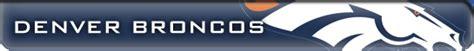 Kaos Football Denver Broncos Alternate Logo 3 1997 Pres denver broncos 1960 present