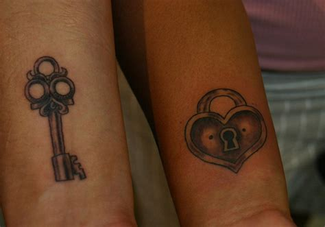 tattoo for married couples 30 fancy lock and key tattoos creativefan