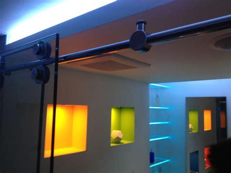 Modern Bathroom Led Lighting Led Bathroom Shower Lighting Modern Bathroom Vanity