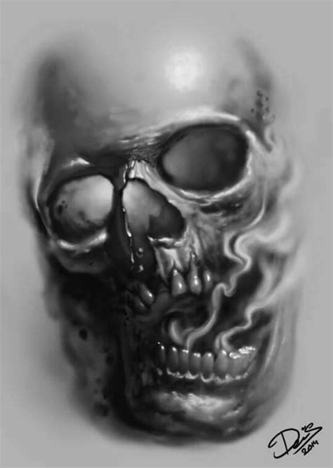 evil skull tattoo designs pin by arturo perez on i want your skull