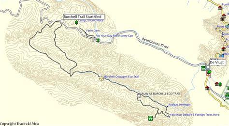 tracks4africa maps tracks4africa padkos burchell oxwagen 4wd trail