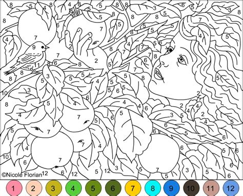 free color by number for adults s free coloring pages color by number gold