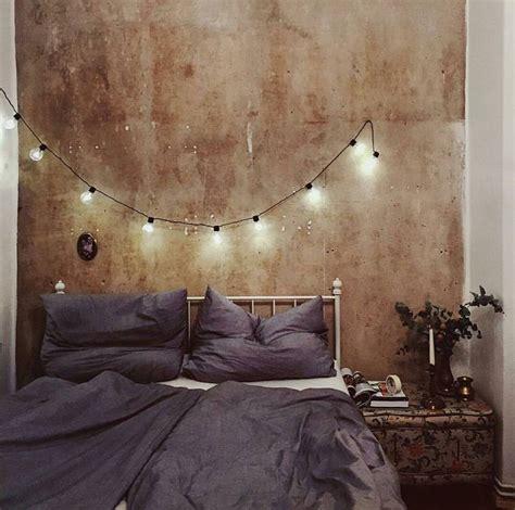 Wandgestaltung Im Wohnzimmer 6292 by Die Besten 25 Schlafzimmer Lichterkette Ideen Auf