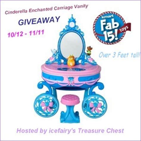 Cinderella Carriage Vanity by Cinderella Enchanted Carriage Vanity Giveaway Over30mommy