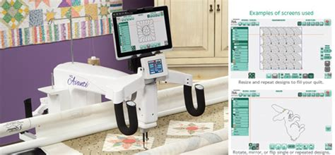 handi quilter arm sewing machines in europe