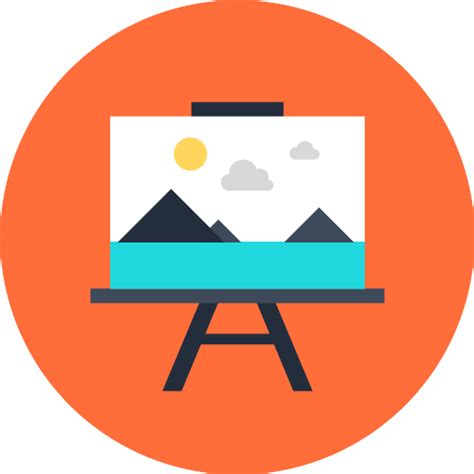 painting icon canvas free art icons