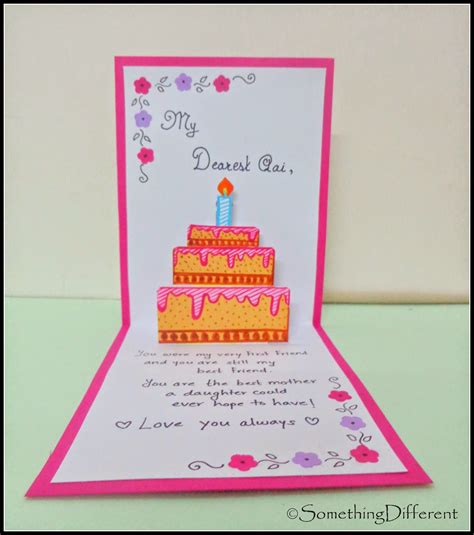 how to make pop out birthday cards something different 3 d pop up birthday card happy