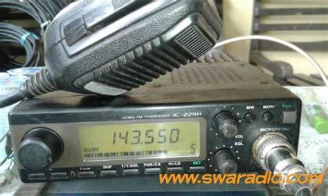 Jual Extramic Icom Hm 36 Baru Radio Komunikasi Elektronik Terbaru dijual rig icom ic 229 hotel lengkap breket dan dc cord lokal swaradio
