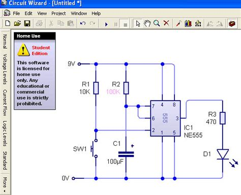 resistor calculator for 555 timer 555 timer experiments design and technology