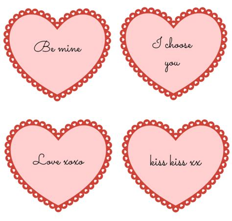 printable hearts for valentines day printables for valentines day and sew we craft