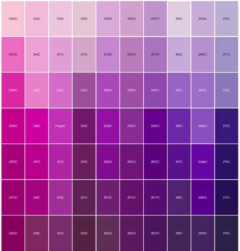 colors that match purple logo pantone color matching paintings and paper