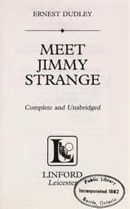 Meet Jimmy Strange meet jimmy strange 2011 edition open library