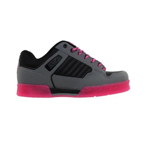 womens dvs durham skate shoe grey pink fashion shoes