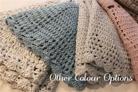 cm  light blue floor rug cotton crochet shabby chic hampton style  baby kids decor
