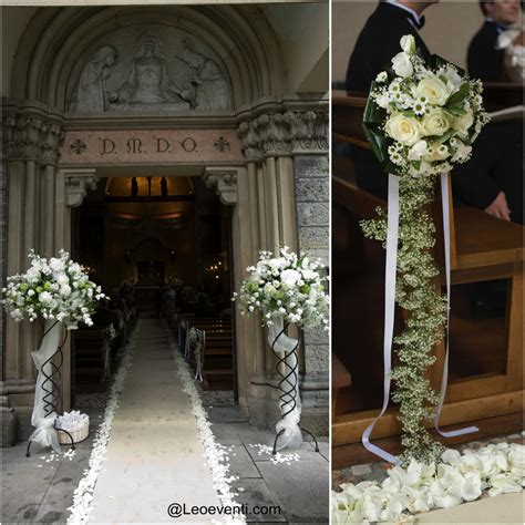 church decorating ideas church wedding decorations ideas for your wedding in italy leo eventi