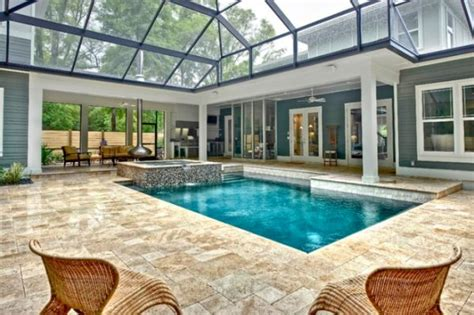 enclosed pool designs beautiful stunning indoor pools refreshing reminders of