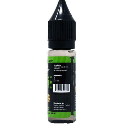 Kualitas Bagus Premium Liquid Choco Blast 75mg cbd 16 5ml e liquid hemp bombs cbd