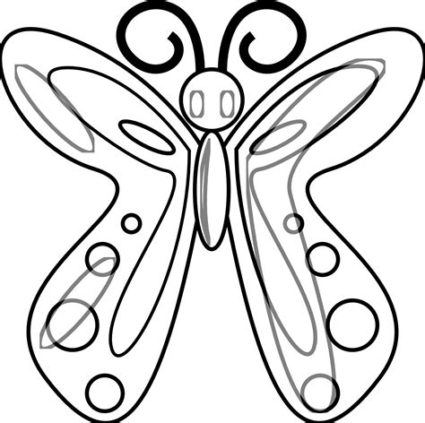 Coloring Page For by Free Printable Butterfly Coloring Pages For