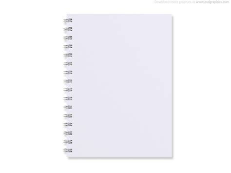 notebook design template white psdgraphics part 3