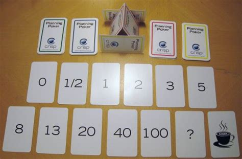 scrum planning cards template let s play planning