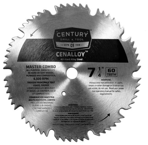 Circular Saw Blade Edesso 7 X24t master combination cenalloy circular saw blade 7 25 quot x60t
