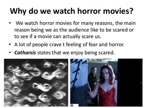 why do like genre research horror time
