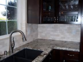 tumbled marble kitchen backsplash crema marfil tumbled marble backsplash design ideas