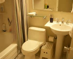 small bathroom interior