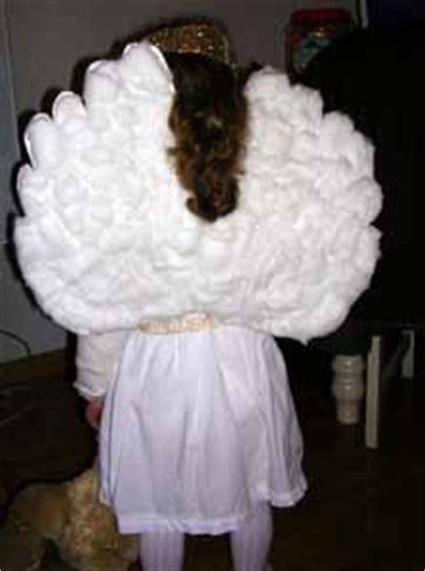 como hacer un disfraz de angelito casero