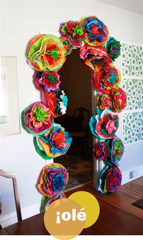 How To Make Mexican Paper Decorations - cinco de mayo ideas