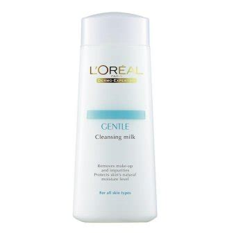 Harga L Oreal Gentle Cleansing Milk l oreal gentle cleansing milk 200ml lazada malaysia