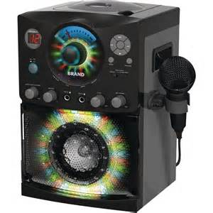 singing machine sml 385 with disco lights on screen cd