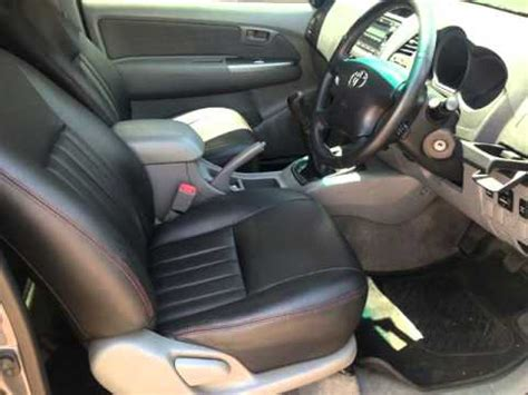 car upholstery for sale 2011 toyota hilux 3 0 d4 d single cab 4x2 leather seats
