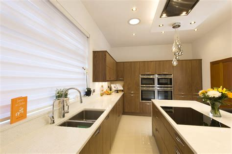 Room Makers by Grain Matched Walnut Kitchen Room Makers Ltd Bespoke