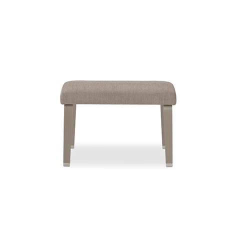 armless bench valayo 26 quot upholstered top armless bench integraseating