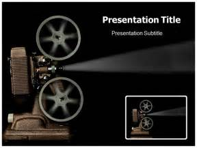 movie themed powerpoint template related keywords