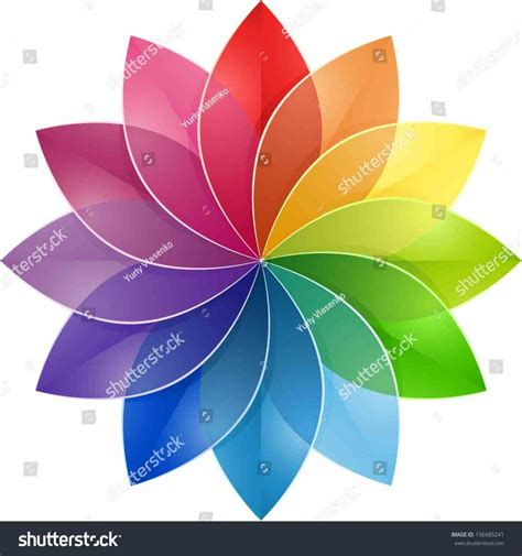 school visual design churchill creative color wheel flower high school visual design free images