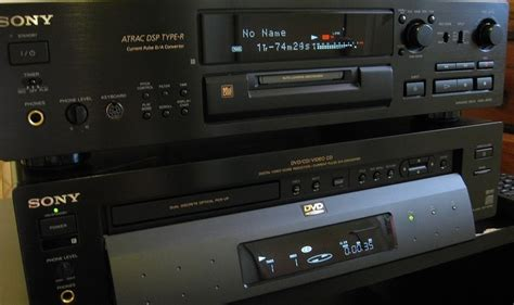 sony dvd player invalid format sony ja 20es mini disc deck i still use and love this