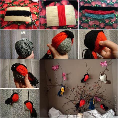 creative ideas creative ideas diy adorable yarn birdies
