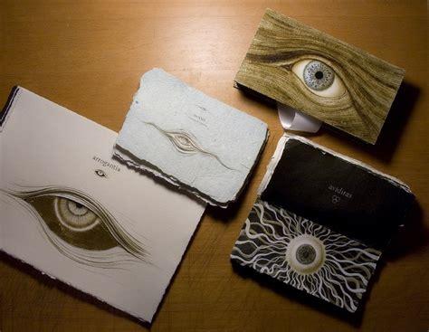 Handmade Modern Book - handmade book features mesmerizing illustrations of